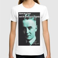 fitzgerald T-shirts featuring Francis Scott Fitzgerald by Guido prussia