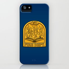 Fire Department 451 iPhone Case