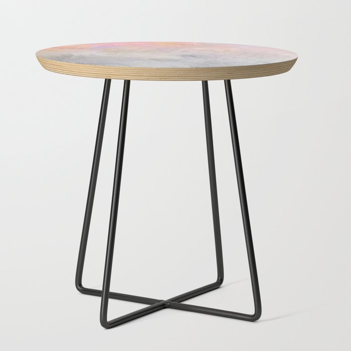 Pastel_Candy_Iridescent_Marble_on_Concrete_Side_Table_by_Dominique_Vari__Black__Round