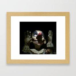 Clown (jack-in-the-box) Framed Art Print