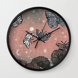 Night Garden (2) Wall Clock