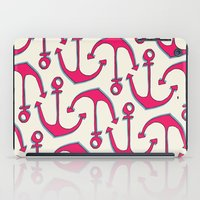 anchors iPad Cases featuring Anchors by Anne Waters