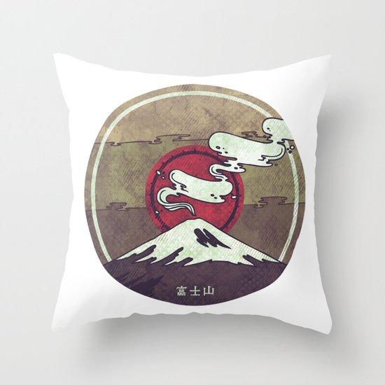 Fuji Throw Pillow