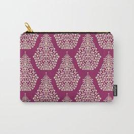 SPIRIT purple cream Carry-All Pouch
