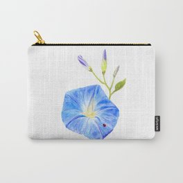 Morning Glory and the Ladybug by Teresa Thompson Carry-All Pouch