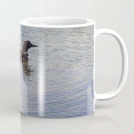 Loon Family Close Up Coffee Mug