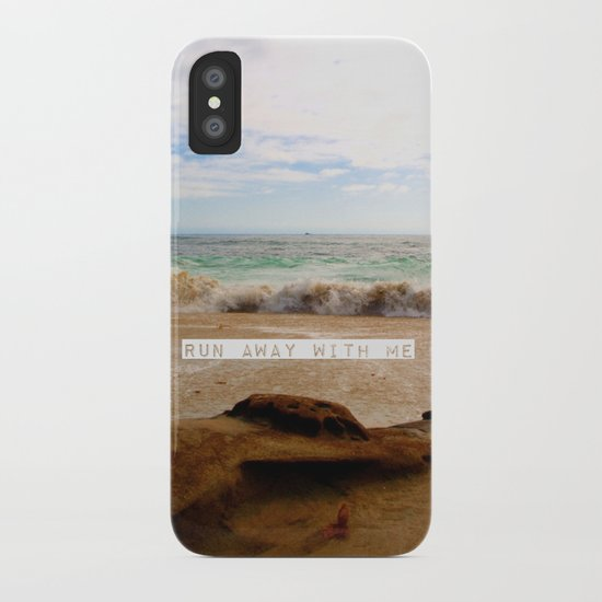 Run Away With Me iPhone Case