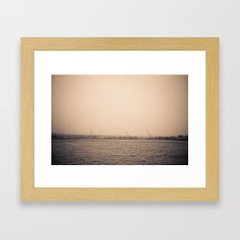 I Can Barely See You #2 Framed Art Print