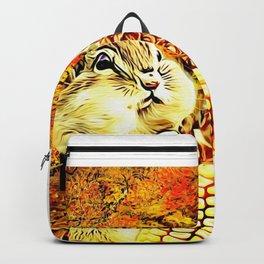 A Squirrel and a Corn Cob 01 Backpack