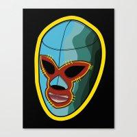 mask Canvas Prints featuring mask by mark ashkenazi