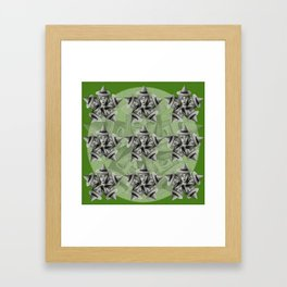 Kaleidescope Witch Framed Art Print