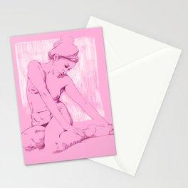 Chicas Rosadas Stationery Cards