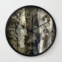 Phillip of Macedon series 7 Wall Clock