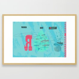 The Second Great Catch (by Clare Nicholas) Framed Art Print