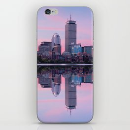 Boston before sunrise iPhone Skin