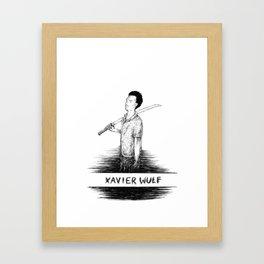 Xavier Wulf Framed Art Print