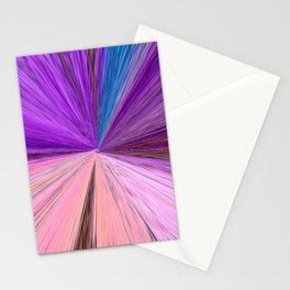 """Silver Moon – Elements"" Painting Stationery Cards"