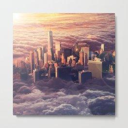 New York: Through The Roof Metal Print