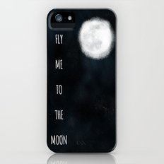 Fly me to the moon. iPhone (5, 5s) Slim Case