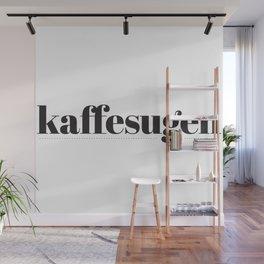 Kaffesugen Wall Mural