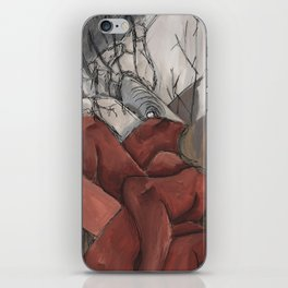 Disturbed Dreams Watercolor iPhone Skin