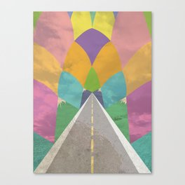 Road to Somewhere Canvas Print
