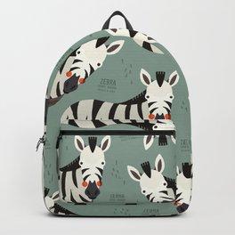Zebra, African Wildlife Backpack