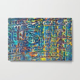 Fabric of Life (Series) Metal Print