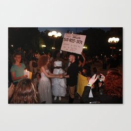 Drag Queens Marriage Canvas Print