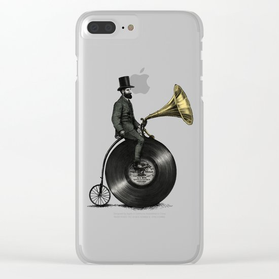 Music Man Clear iPhone Case