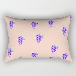 Grape Cutie Rectangular Pillow