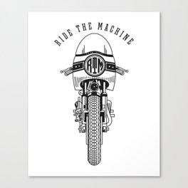 Ride The Machine Canvas Print
