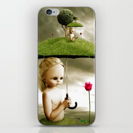 Eve's Umbrella iPhone Skin