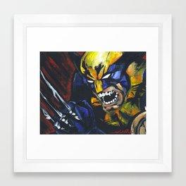 Wolverine X-Men Logan Framed Art Print