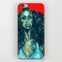 power iPhone & iPod Skins featuring POWER by Iconic Arts