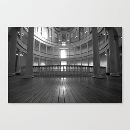 Inside the Courthouse Canvas Print