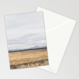 Distant Mountain Stationery Cards