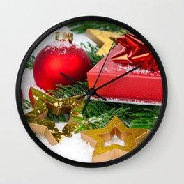 Desktop Wallpapers Christmas little stars present  Wall Clock