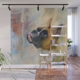 Flashy Fawn Boxer Wall Mural