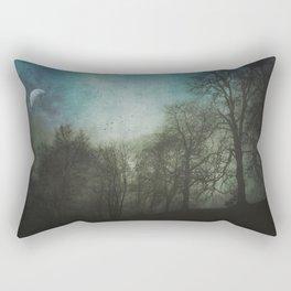world in twilight Rectangular Pillow