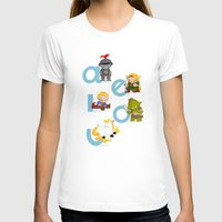 medieval T-shirts featuring Medieval Vowels by Alapapaju