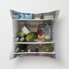 Fridge Candies  2   [REFRIGERATOR] [FRIDGE] [WEIRD] [FRESH] Throw Pillow