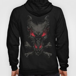 All the powers of Hell GREY RED Hoody
