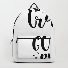 Tote Bag Cute But Crazy Backpack