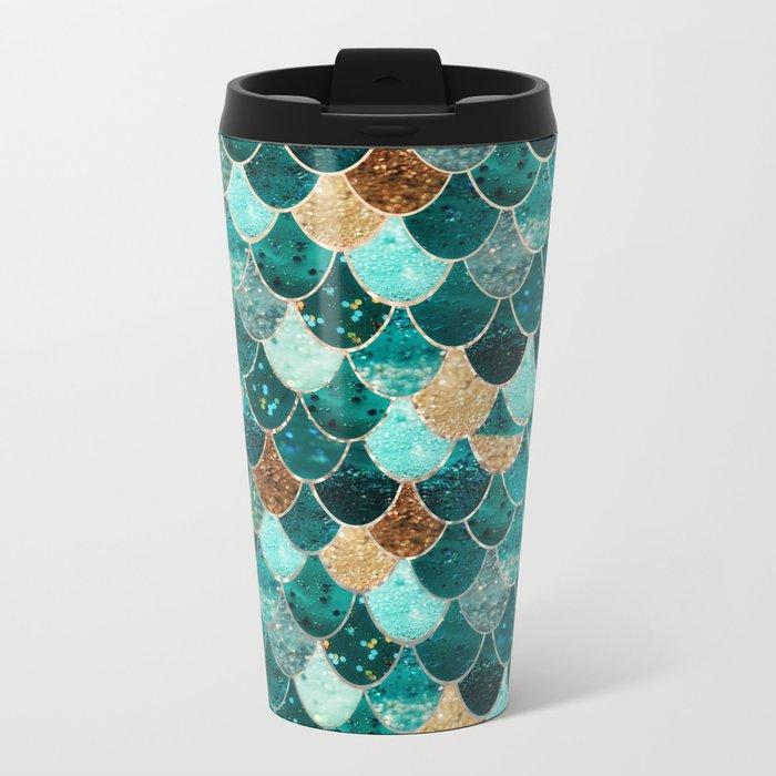 REALLY MERMAID Metal Travel Mug
