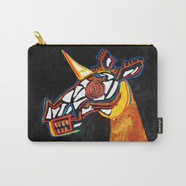 Basquiat Skull Unicorn Carry-All Pouch
