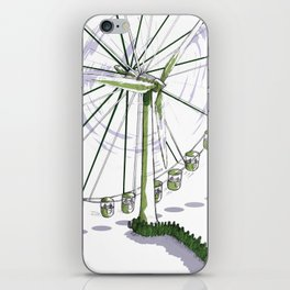 Wisdom of scientists iPhone Skin