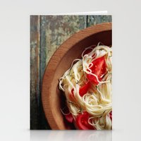pasta Stationery Cards featuring Pasta by Eli Potter