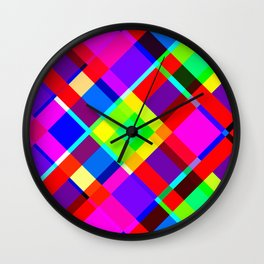 Vibrancy I Wall Clock