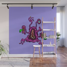 Are you ill? Check your Germs! Toes Wall Mural